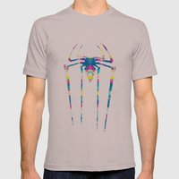 Amazing Spiderman Mens Fitted Tee Cinder SMALL