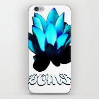 Lotus Flower Bomb iPhone & iPod Skin
