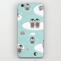 Penguins And Seals iPhone & iPod Skin