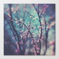 Paint Me Pink &Blue Canvas Print
