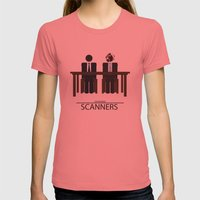Scanners - Altenative Mo… Womens Fitted Tee Pomegranate SMALL