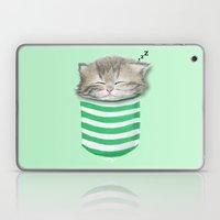 Cat In The Pocket Laptop & iPad Skin