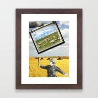 The Battlefield Of Today Framed Art Print