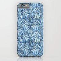 iPhone Cases featuring View From a Blue Window by micklyn
