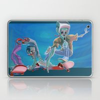 Zombies and Skateboards Laptop & iPad Skin