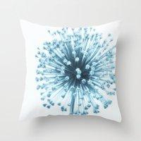 William Blue Throw Pillow