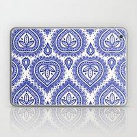 Decorative Blue Laptop & iPad Skin