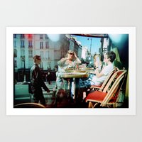 Cafe Arsenal, Paris (Dou… Art Print