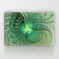 The Abstract Action, Fra… Laptop & iPad Skin