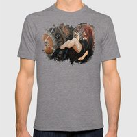 The Endless Wait Mens Fitted Tee Tri-Grey SMALL