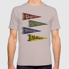 Vintage Hogwart's Pennant Collection Mens Fitted Tee Cinder SMALL