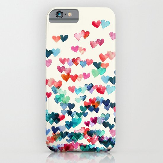 Heart Connections - watercolor painting iPhone & iPod Case