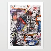 Foreign Objects Art Print