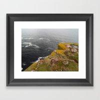 At Noup Head Framed Art Print