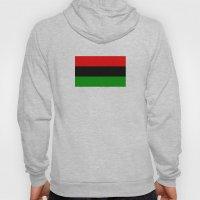 afro american ethnic flag Hoody