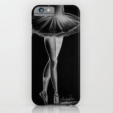 Ballerina - Black and White - Ashley Rose iPhone 6 Slim Case