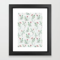 springtime pink Framed Art Print