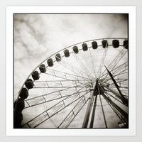{ Ferris Day Out } Art Print