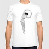 One-Way Ticket  Mens Fitted Tee White SMALL