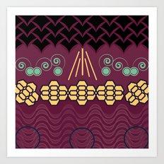 HARMONY pattern Alt 2 Art Print