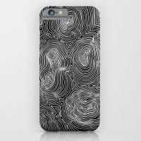 Inverse Contours iPhone 6 Slim Case