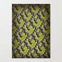 Long-chain Demi-gods of Imperfection Canvas Print