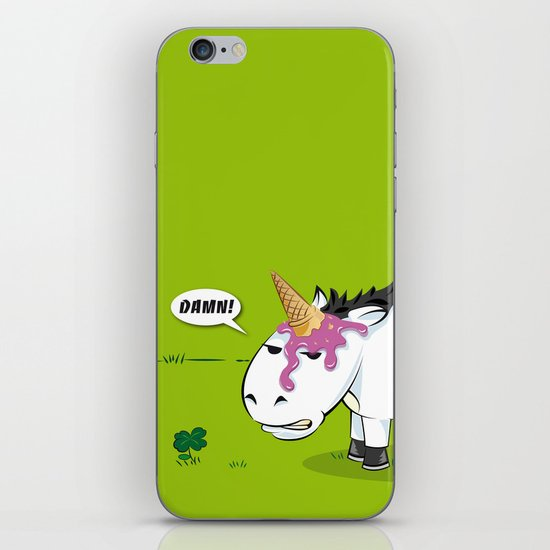 Damn! Bob, the Unlucky Horse! iPhone & iPod Skin