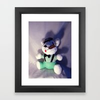 Bully Gangster Framed Art Print