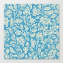 neo ethnic cerulean Canvas Print