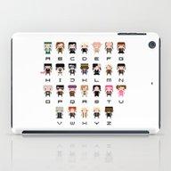 iPad Case featuring Harry Potter Alphabet by PixelPower