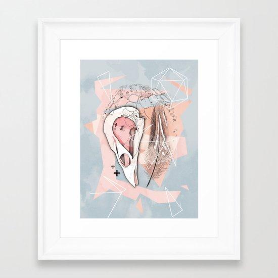 Feather Box V2 Framed Art Print