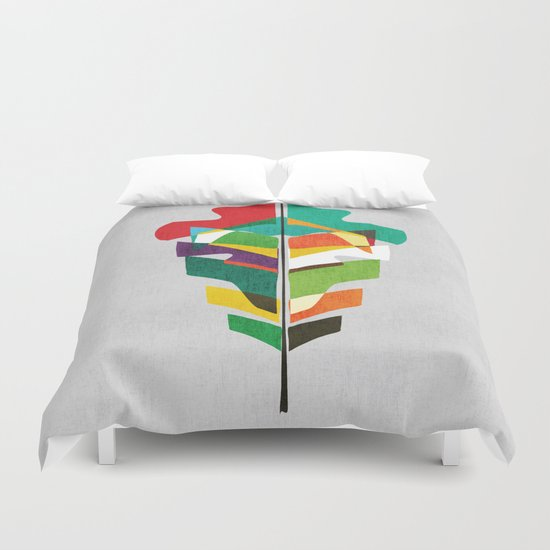 Before the last leaf falls Duvet Cover