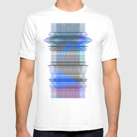 PIPELINE RESONANCE Mens Fitted Tee White SMALL