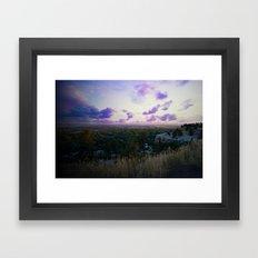 Billings Montana 4 Framed Art Print