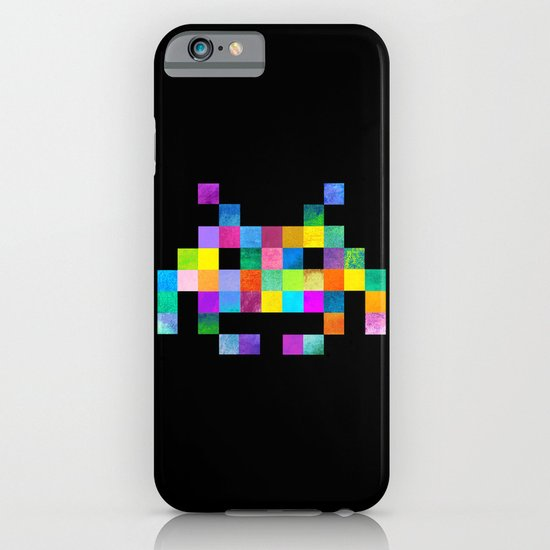 Cubist Invader iPhone & iPod Case