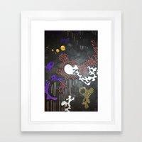 Mix & Flow Framed Art Print