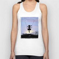 Cat Kid Unisex Tank Top
