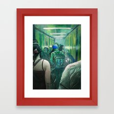 A Strange Quiet Framed Art Print