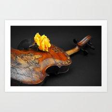 La música Art Print