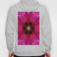Pink Flower Abstract Hoody