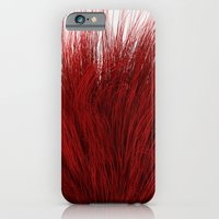 iPhone & iPod Case featuring Red Fuzz by FalexanderArt