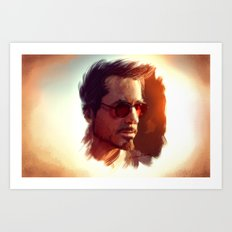 Genius. Billionaire. Playboy. Philanthropist Art Print