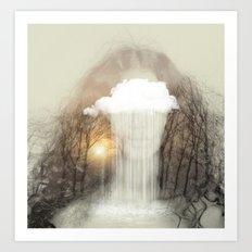 Raining Tears Art Print