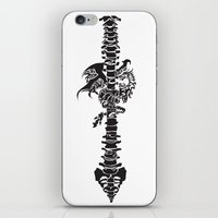Dragon & Spine iPhone & iPod Skin