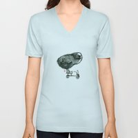 Chick On Speed Unisex V-Neck