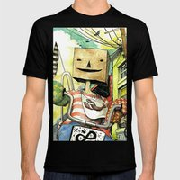 pseudo-hero Mens Fitted Tee Black SMALL