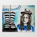 Too Big, Alice Canvas Print