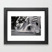 Octopus Park Framed Art Print