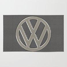VW Silver Grill Rug