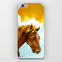 The Sun King iPhone & iPod Skin
